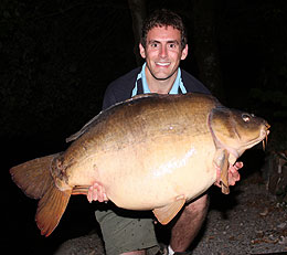 Less action but bigger fish - A stunning 56lb mirror for Martyn