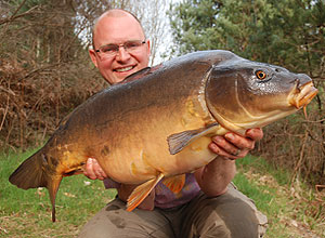 Kevin Green with a chestnut coloured twenty