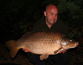 Leon with a cracking common