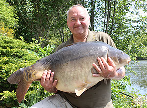 A stunning 43lb mirror for George